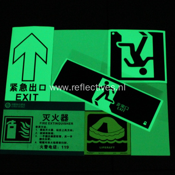 PET Photoluminescent Films for Traffic Sign